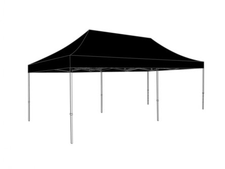 plooitent-6x3m-zwart-2206